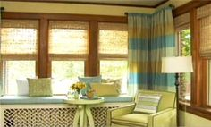 How to choose window treatments, measure for them, etc.