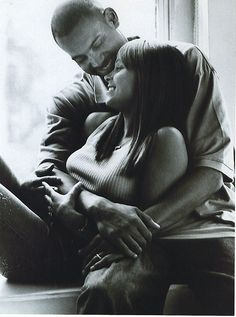 Tamia and Grant