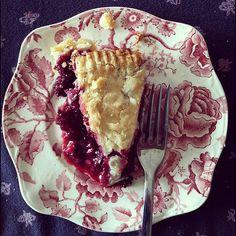 The Tuesday Treat: Black Raspberry Pie   cucina nicolina