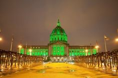 City Hall in San Francisco – St. Patrick's Day