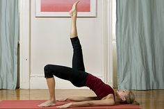 Get Abs in Weeks with this Yoga Workout! by womenshealth: Eight yoga exercises to tighten your torso, trim belly fat, and create eye-popping abs. #Yoga #Abs