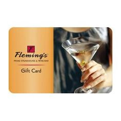 Fleming`s Gift Card $50.00