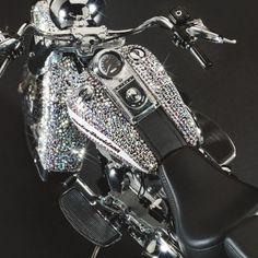 Harley-Davidson Softail in Swarovski