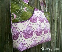 Swoon's Cate Bag Pockets Sewing Tutorial