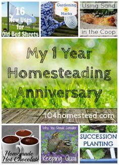 Wow, my homesteading