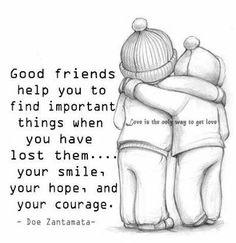 Good friends :) Maricela & Denise