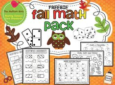 The Moffatt Girls: Fall Math Pack FREEBIE!