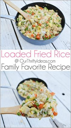 Loaded Fried Rice is