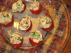 The Old Hen Bed & Breakfast Bacon Stuffed Cherry Tomatoes Appetizer Recipe