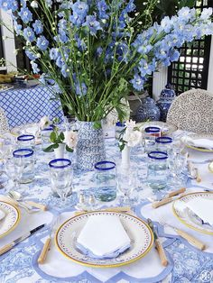 Hydrangea Hill Cottage: Mother's Day Tablesettings