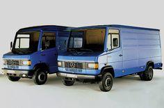 Mercedes-Benz Transporter (T2) Modelle 507 D - 811  D (1986)