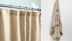 Burlap shower curtains on pinterest burlap shower rustic shower cu