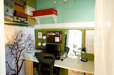 mirror, desk space, office spaces, closets, small offices, closet office, walk, san francisco, home offices