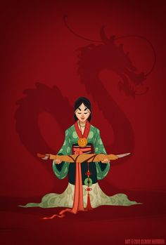 Who always speaks her mind by Claire Hummel. Historical Disney Princesses. Mulan.  #fanart