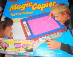 magic copier! this thing was neato!  #90's toys....it still amazes me as to how the thing worked!