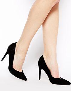 Enlarge ASOS POTENTIAL Suede Pointed Heels