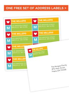 Shutterfly: Free Address Labels -