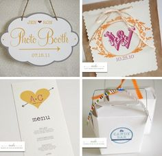 Free Customized Download Printables from the Wedding Chicks.