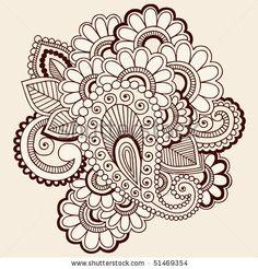 tattoo ideas, vector illustrations, paisley, henna designs, pattern, henna tattoos, hennas, doodl, shoulder tattoo