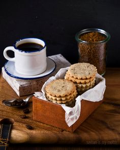 coffee shortbreads
