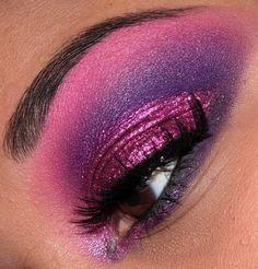 #Eye Shadow | #Makeup | #Fantasy Hair & Makeup | Colorful Eye Shadow | Dramatic Eye Makeup | #Beauty | #Purple Eye Makeup