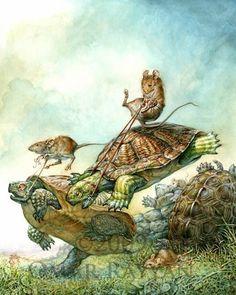 Turtle Race by Omar Rayyan