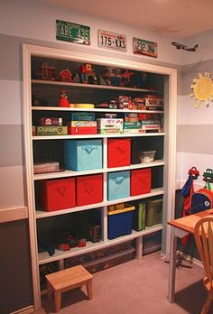 I want to do this for the playroom closet