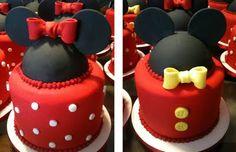 mickey/minnie cakes
