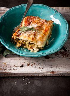 Pork, pumpkin, sage and ricotta cannelloni via what katie ate