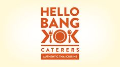 Logo for a Thai catering company.