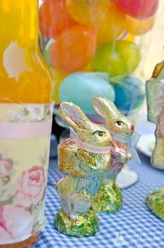 Hostess with the Mostess® - Shabby Chic Easter Party + Free Printables