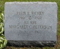 Tombstone Tuesday: Felix E. Richey #genealogy #familyhistory