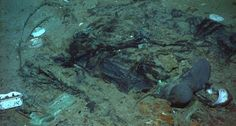 This Titanic photo shows evidence of human remains By Claudine Zap A newly released photo from the North Atlantic site of the shipwrecked RMS Titanic shows evidence of human remains, federal officials are saying...