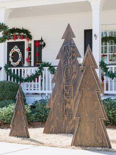 Nailed It - Alternative Christmas Trees on HGTV