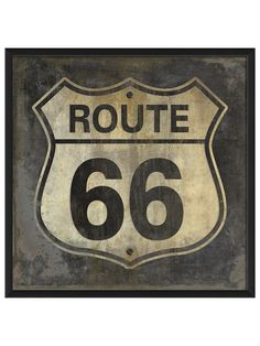 Route 66 by Artwork Enclosed at Gilt
