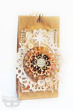 christmas bag by Made by Finnabair, via Flickr