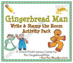 This fun, Gingerbread Man themed activity pack will help your students practice reading, story vocabulary and writing!