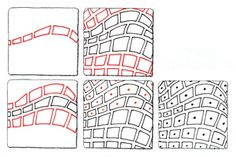 BLOG.SUZANNEMCNEILL.COM: More Zentangle Master Class