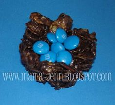 N is for Nest chocolate treat