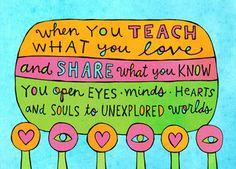teacher love...