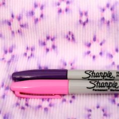DIY: Sharpie Tie Dye.  Easy!