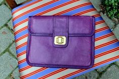 $60 Copious: Juicy Couture Purple Envelope Clutch