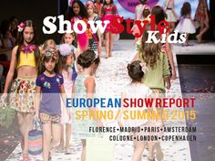 Are you looking for an overview of the major European trade fairs? Get the Euro Fair report!  ShowStyleKids.com