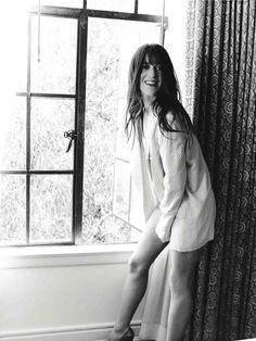 Charlotte Gainsbourg photographed by Kurt Iswarienko for Flaunt magazine