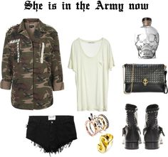 She is in the Army now #serra