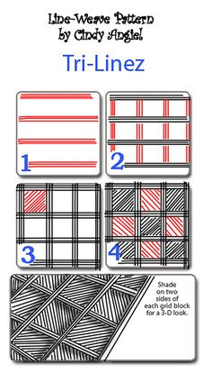 Tri-Linez PatternWorksheet by Paint Chip, via Flickr