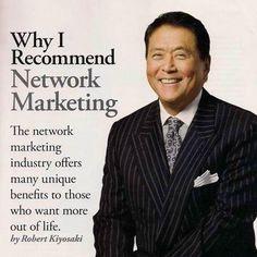 Why Robert Kiyosaki Thinks Network Marketing is the Prefect Business
