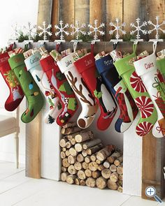 Felt stockings