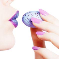 Spring nail pro lips and nails \www.lorincrosby.com