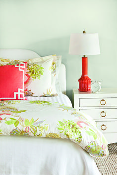 Coral Deco Pillow
